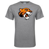 Grey T Shirt-Thomas Tiger Head