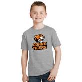 Youth Grey T Shirt-Thomas Doanes Tigers