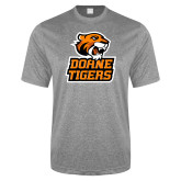 Performance Grey Heather Contender Tee-Thomas Doanes Tigers