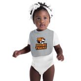 Grey Baby Bib-Thomas Doanes Tigers