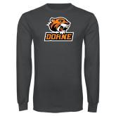 Charcoal Long Sleeve T Shirt-Thomas Doane