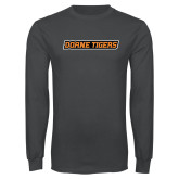 Charcoal Long Sleeve T Shirt-Doane Tigers
