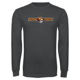 Charcoal Long Sleeve T Shirt-Doane Thomas Tigers