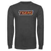 Charcoal Long Sleeve T Shirt-Tigers