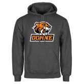 Charcoal Fleece Hoodie-Thomas Doane