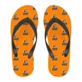 Full Color Flip Flops-Thomas Doanes Tigers