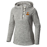 Columbia Ladies Darling Days Sea Salt Pullover-Thomas Doanes Tigers