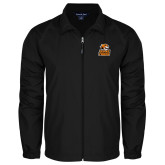 Full Zip Black Wind Jacket-Thomas Doanes Tigers
