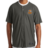 New Era Charcoal Diamond Era Jersey-Thomas Doanes Tigers