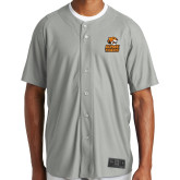 New Era Light Grey Diamond Era Jersey-Thomas Doanes Tigers