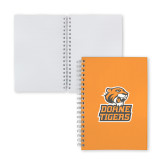 Clear 7 x 10 Spiral Journal Notebook-Thomas Doanes Tigers