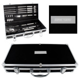 Grill Master Set-Doane Tigers Engraved