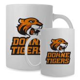 Full Color White Mug 15oz-Thomas Doanes Tigers