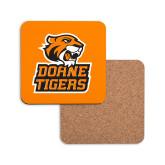 Hardboard Coaster w/Cork Backing-Thomas Doanes Tigers