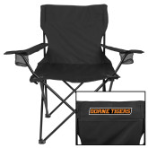 Deluxe Black Captains Chair-Doane Tigers