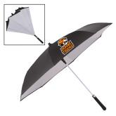 48 Inch Auto Open Black/White Inversion Umbrella-Thomas Doanes Tigers