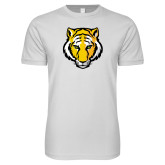 Next Level SoftStyle White T Shirt-Tiger Head