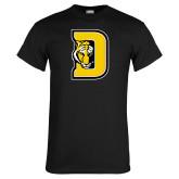 Black T Shirt-D w/ Tiger Head