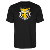 Performance Black Tee-Tiger Head