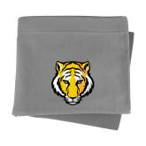 Grey Sweatshirt Blanket-Tiger Head