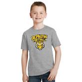 Youth Grey T-Shirt-Football