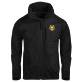 Black Charger Jacket-Tiger Head