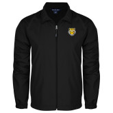 Full Zip Black Wind Jacket-Tiger Head