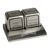 Icon Action Dice-Wordmark Engraved