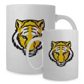 Full Color White Mug 15oz-Primary Mark