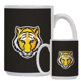Full Color White Mug 15oz-Tiger Head