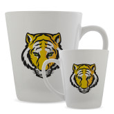 Full Color Latte Mug 12oz-Tiger Head