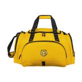 Challenger Team Gold Sport Bag-Tiger Head