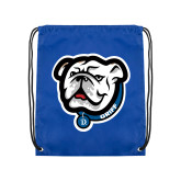 Royal Drawstring Backpack-Griff