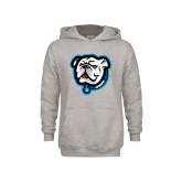 Youth Grey Fleece Hood-Griff