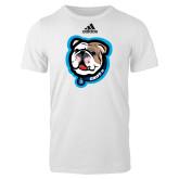 Adidas White Logo T Shirt-Griff II
