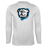 Performance White Longsleeve Shirt-Griff