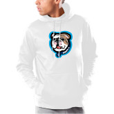 Under Armour White Armour Fleece Hoodie-Griff II
