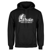 Black Fleece Hoodie-Drake Volleyball
