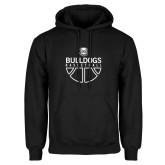 Black Fleece Hoodie-Bulldogs Basketball
