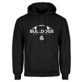Black Fleece Hoodie-Bulldogs Football