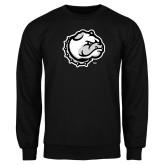 Black Fleece Crew-Bulldog Head