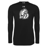 Under Armour Black Long Sleeve Tech Tee-D Dog