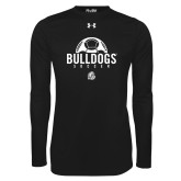 Under Armour Black Long Sleeve Tech Tee-Bulldogs Soccer