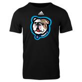 Adidas Black Logo T Shirt-Griff II
