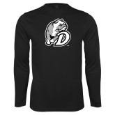 Performance Black Longsleeve Shirt-D Dog