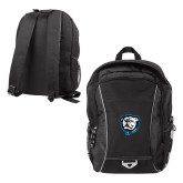 Atlas Black Computer Backpack-Griff
