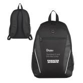 Atlas Black Computer Backpack-Robert and Billy Center