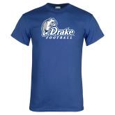Royal T Shirt-Drake Football