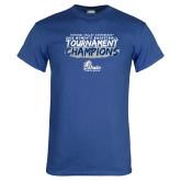 Royal T Shirt-2018 Womens Basketball Tournament Champions