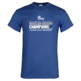 Royal T Shirt-2019 Womens Regular Season Basketball Champions